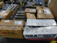 Lot of Assorted Components - Includes:; Ball Bracket; UV Sensor; Inlight Scanner; Tag: 216291