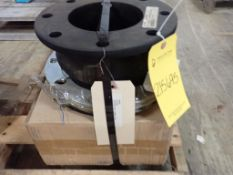 """Lot of (2) Rubber Expansion Joints - 6"""" x 6""""; Tag: 215695"""