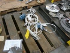 Lot of (2) Rosemount Transmitter Gauges - Part No. TG3A2B21AE584SI; 10.5-55 VDC; 0-800 PSI; Tag: