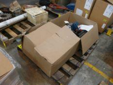 Lot of (6) Assorted Motors and (1) Assembly - (1) Servo Motor Part No. MPL-B450F-SJ-72AA; (1) Liquor