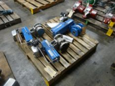 """Lot of (3) Neles Ball Valves - Sizes Include:; 1-1/2""""; 2""""; Tag: 216086"""