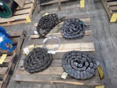Lot of (4) Mill Chains - Part No. WHR78R; Tag: 215876