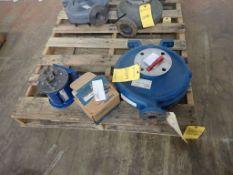 Lot of (1) Casing and (2) Gear Pumps - (1) Goulds Titanium Casing Part No. 3196LTX, 3600 RPM; (1)