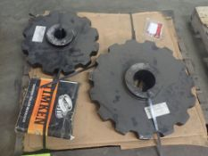 Lot of (2) Sprockets and (3) Timken Roller Bearings - Tag: 216018