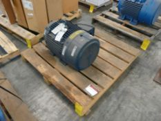 Siemens 30 HP Motor - Part No. 1LA02864ES5T; Type: R6ZEES; 30 HP; 575V; 1775 RPM; Frame: 286T;