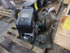 Hatz 1B50 Air Cooled 4 Stroke Diesel Engine with MP Pumps Flomax 10 Self-Priming Centrifugal