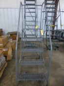 5' Cotterman Rolling Ladder - Tag: 218542