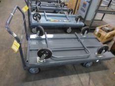 Lot of (2) Platform Carts - Tag: 218522
