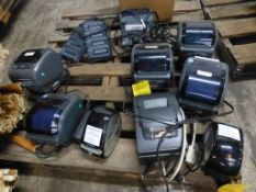 Lot of Assorted Components - Includes:; Label Maker; Battery Charging Port w/Batteries; Hand Held