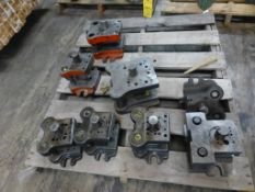 Lot of (8) Assorted Commercial Die Sets - Tag: 218643