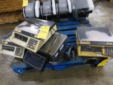 Lot of Assorted Package Scales - Brands Include:; Toledo; Avery Weight Tronics; Tag: 218646