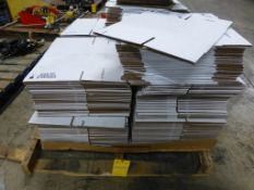 """Lot of (218) Assorted Boxes - (18) 8"""" x 6"""" x 2""""; (200) 10"""" x 10"""" x 20-1/2""""; Tag: 218698"""