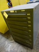 """EquipTo 8-Drawer Cabinet - 30""""W x 27-1/2""""L x 44""""H; Tag: 218680"""