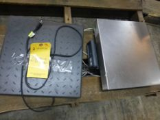 Lot of (2) Assorted Scales - (1) Fairbanks Scale Model No. SCB-R9000-1411, 150 lb Capacity, Class