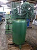 Speedaire 5 HP Vretical Air Compressor - 200V; Tag: 218501