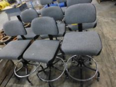 Lot of (6) Rolling Stools - Tag: 218471