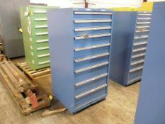 """Lista 9-Drawer Cabinet - 28-1/2""""W x 28-1/2""""L x 59-1/2""""H; Tag: 218666"""