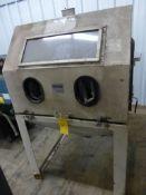 Cyclone Blasting Cabinet - Model No. 4040; Serial No. 5114; Tag: 218691