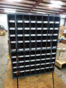 """80-Slot Cabinet - 34""""L x 44-1/2""""H x 17""""W; Tag: 218383"""