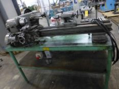 """Southbend 10"""" x 30"""" Lathe - 115V; Tablet Mounted; 3-Jaw Chuck; Tag: 218482"""