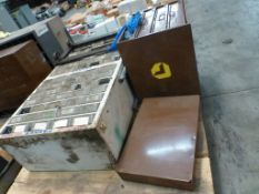 Lot of (2) Assorted Cabinets - (1) Lawson Products Inc 4-Drawer Cabinet w/Components; Includes: