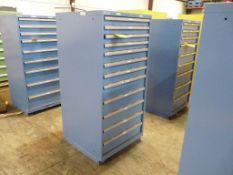 """Lista 12-Drawer Cabinet - 28-1/2""""W x 28-1/2""""L x 59-1/2""""H; Tag: 218665"""