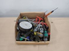 Lot of Assorted Tools - Includes:; Screwdrivers; T-Key Allen Wrench; Balancer; Tag: 219477