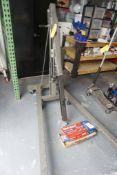 Pittsburgh 2-Ton Heavy Duty Folding Engine Crane Tag: 221217