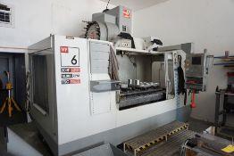 2005 Haas VF6 CNC Vertical Machining Center Model No. VF-6B/40; Serial No. 45374; 30 HP; 10,000A;