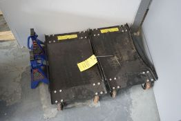 Lot of (2) 2-Ton Stands and (2) Dollies Tag: 221201