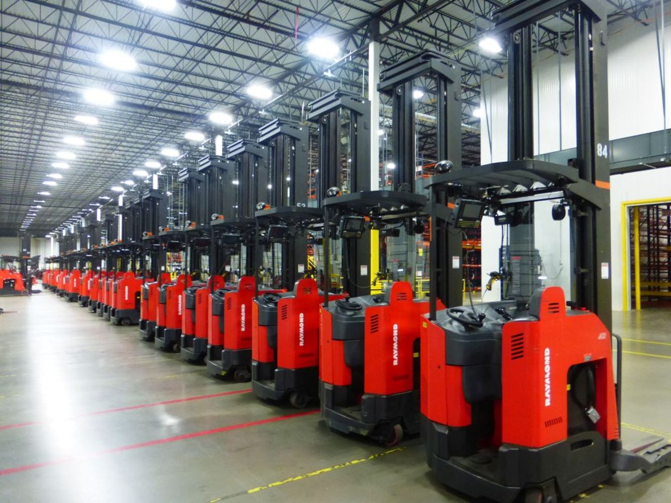 Day Two - Rolling Stock & Support Equipment from Million Square Foot Distribution Center