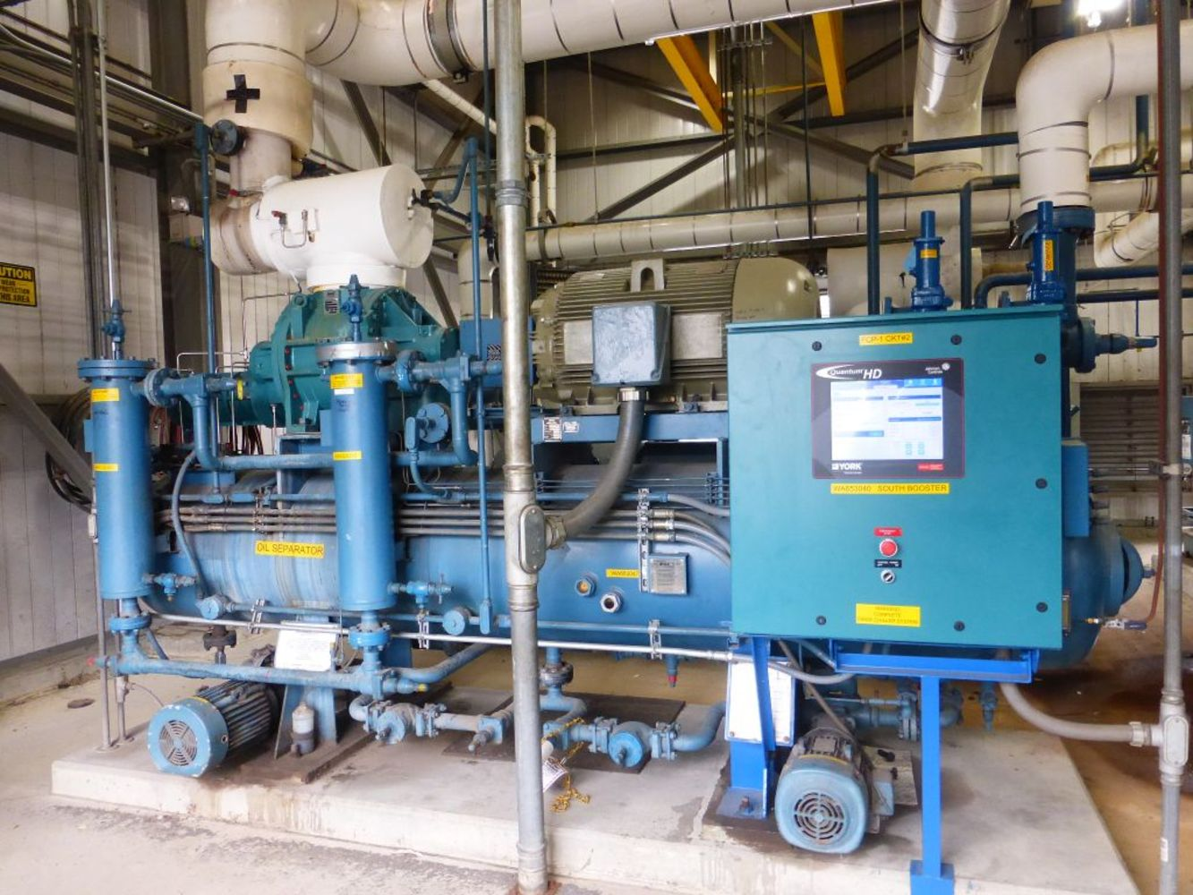 Frick and Sullair High Capacity Air Compressors, Heat Exchangers and More