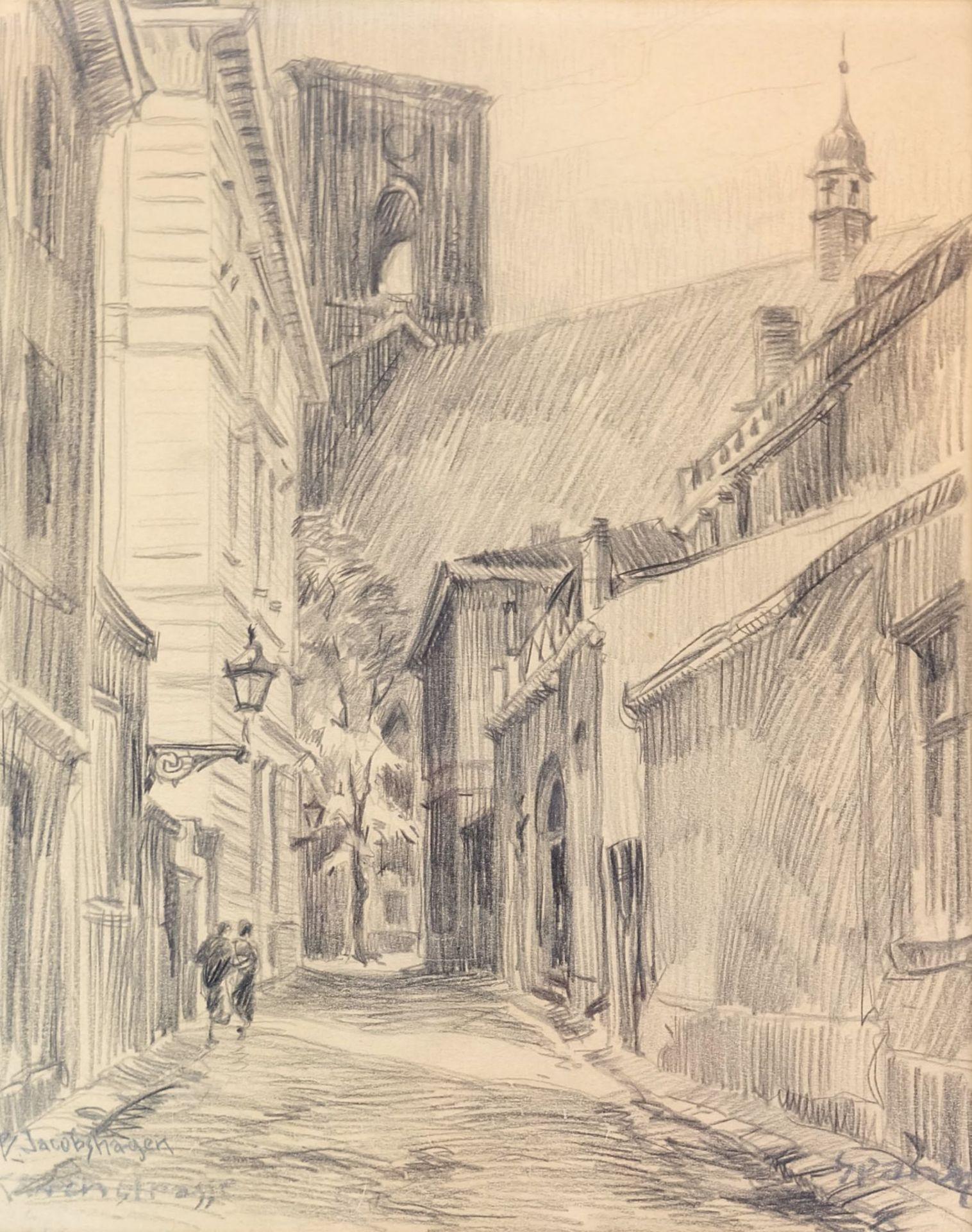 JACOBSHAGEN(-BINDER), Betty (*1890 Berlin +?),