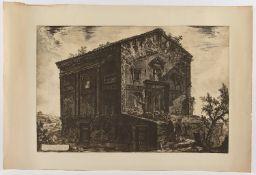 """PIRANESI, """"Veduta del Tempio dlle"""