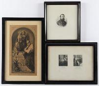 KOHLSCHEIN, Joseph, drei Grafiken,