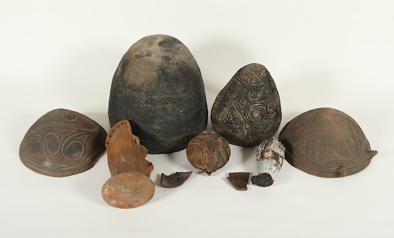 TONOBJEKTE, Terracotta, SAWOS-STAMM, MITTEL-SEPIK, NEUGUINEA - Image 2 of 2