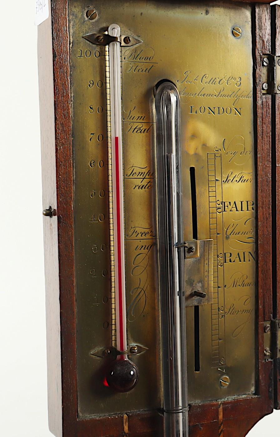 ENGLISCHES BAROMETER, Stick Barometer, - Image 2 of 2