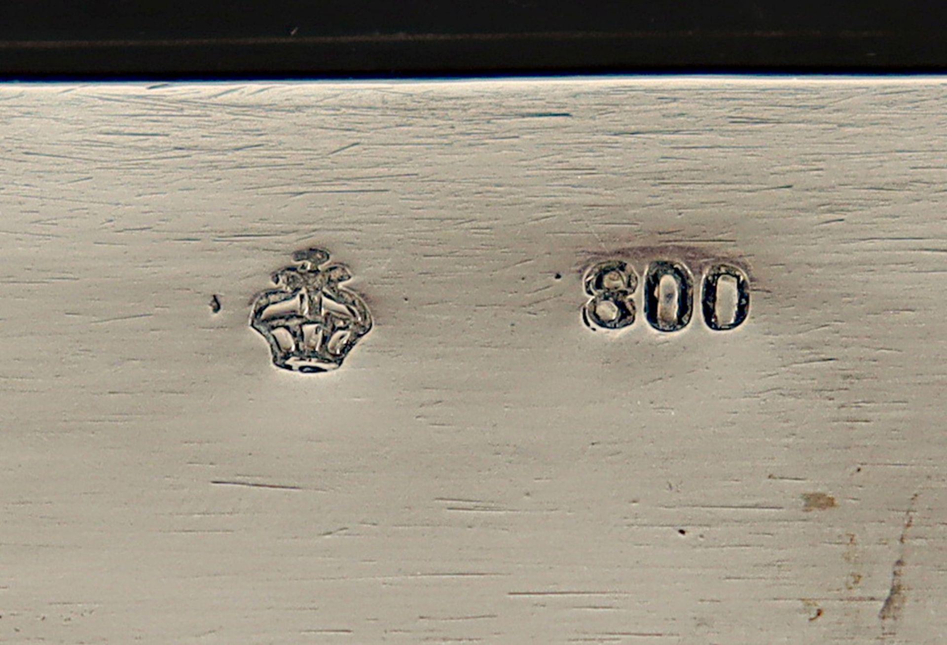 JUGENDSTIL-SCHMUCKSCHATULLE, 800/ooo - Image 7 of 8