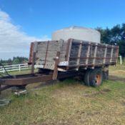 1250 gal water tank on trailer
