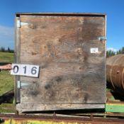 Wood calf hot box