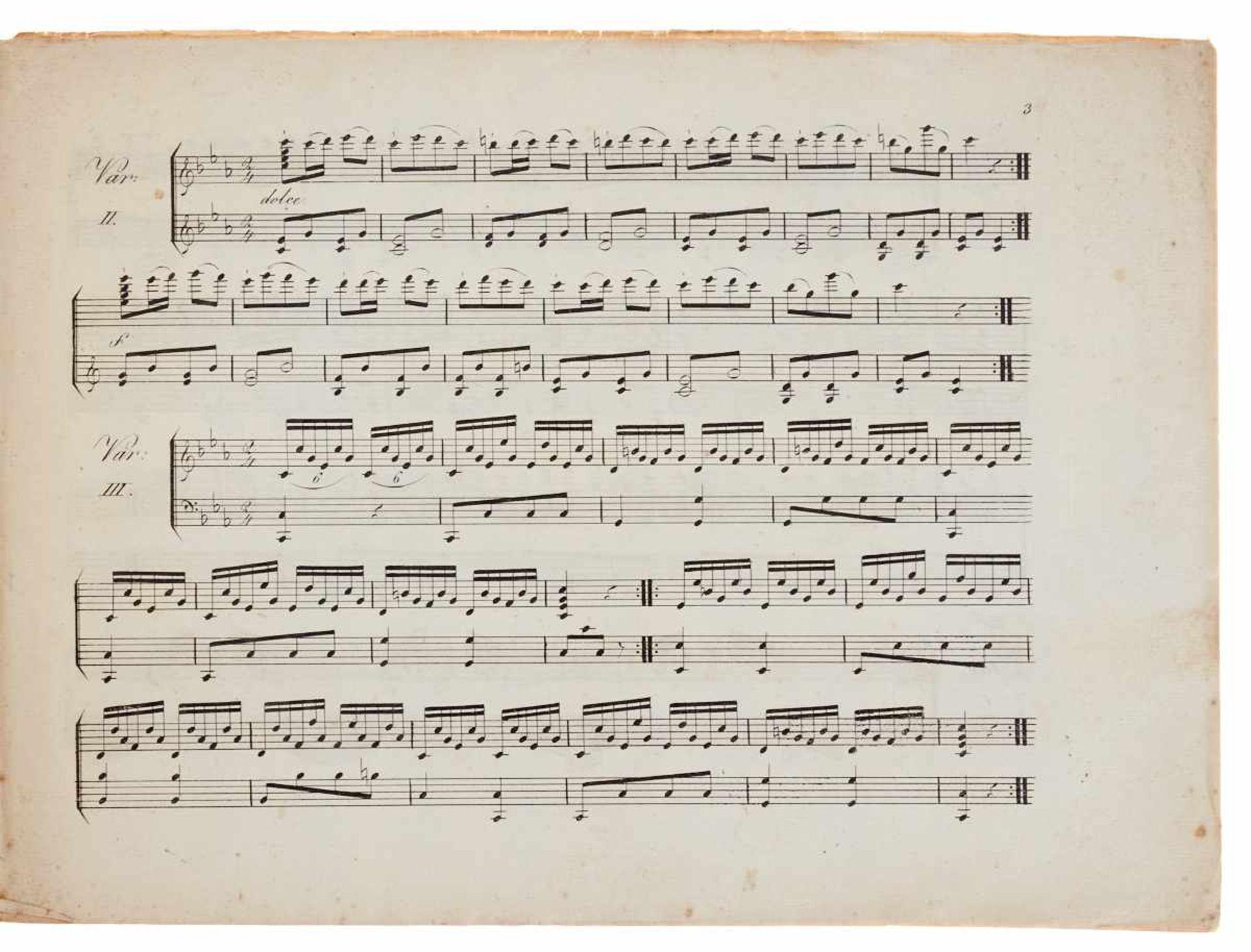 - Bisher unbekannter Münchner Musikdruck - Röhrer, F. X., - Bild 2 aus 2
