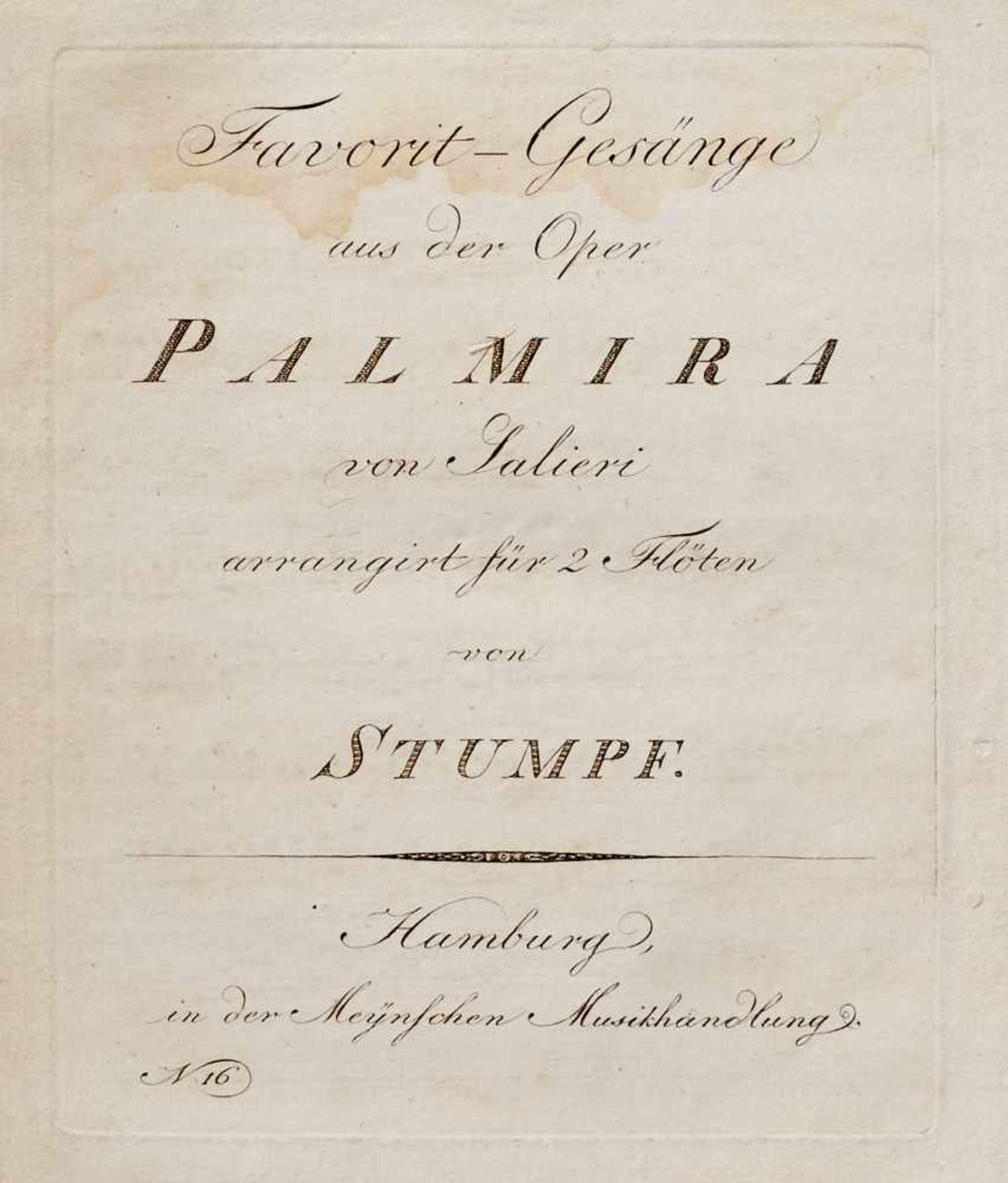 Salieri - Stumpf, (J. Ch.),