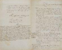 "Medizin - Cholera - ""Auszug aus einem amtlichen Berichte de dato Danzig d(en) 21 July 1831."""